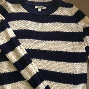 Sweater, very soft, stripped